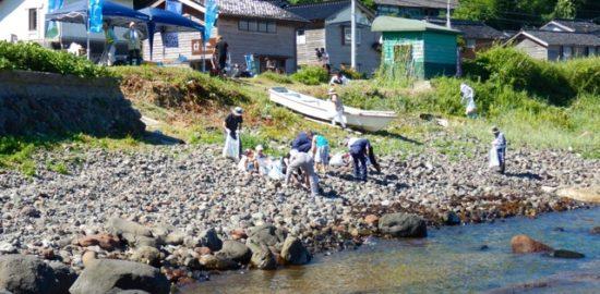 珠洲・方岩海岸清掃