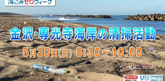 専光寺浜ごみ清掃-1